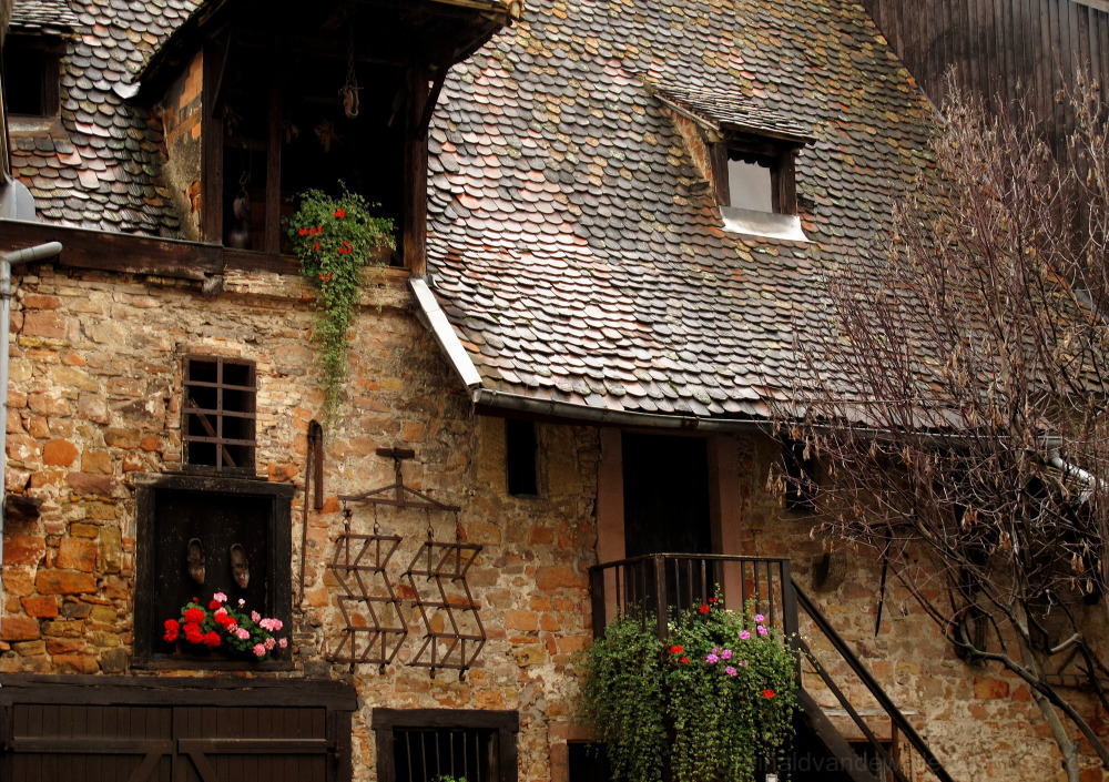 A old french house