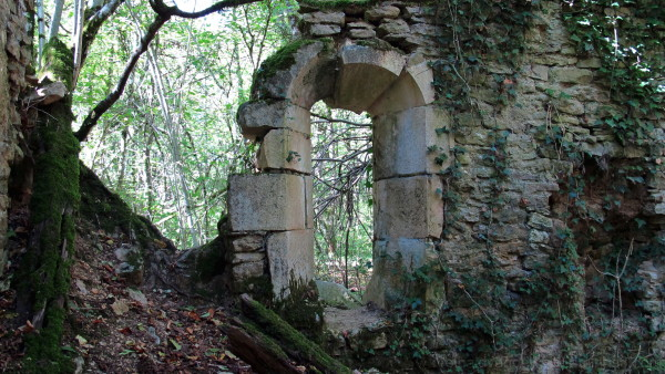 Ruins of a window