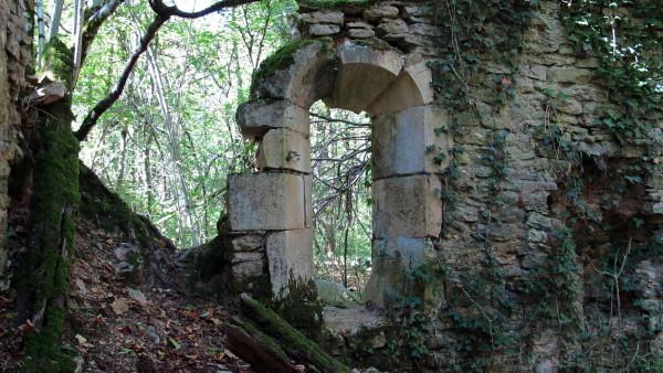 Ruins of a window