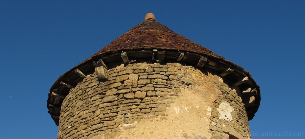 A tower roof