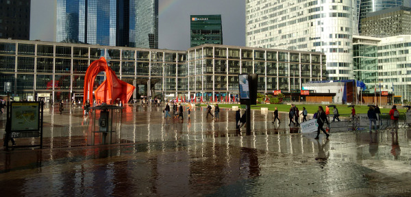In La Defense, Paris