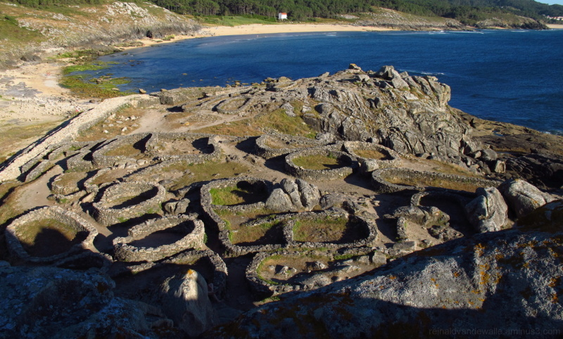 Romanesques hilltop in Galicia