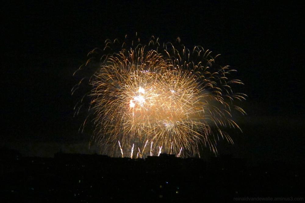Fireworks in Vigo