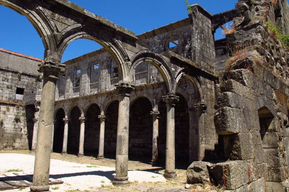 Ruins of a cloister