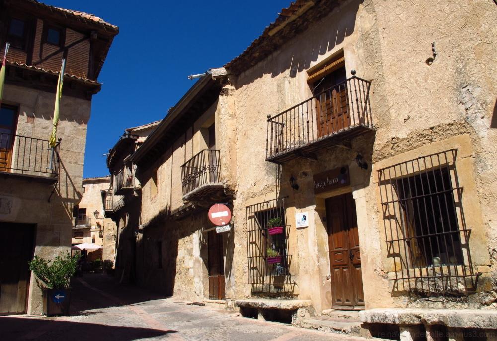 medieval village streets