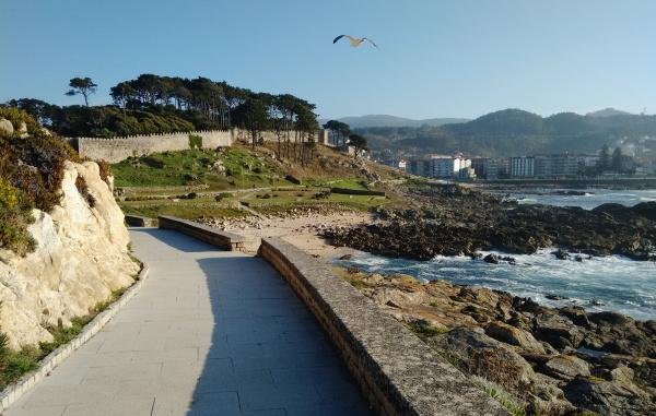 Castle promenade