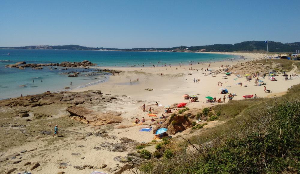 A Lanzada beach, Galicia