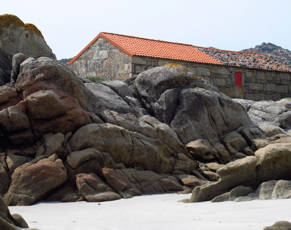 Old fisherman houses