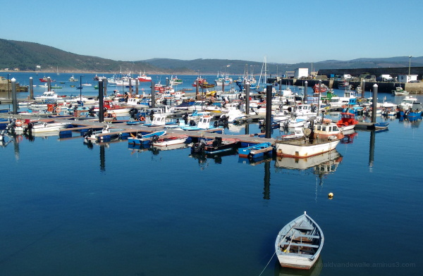 Fishing boats at Finisterre port