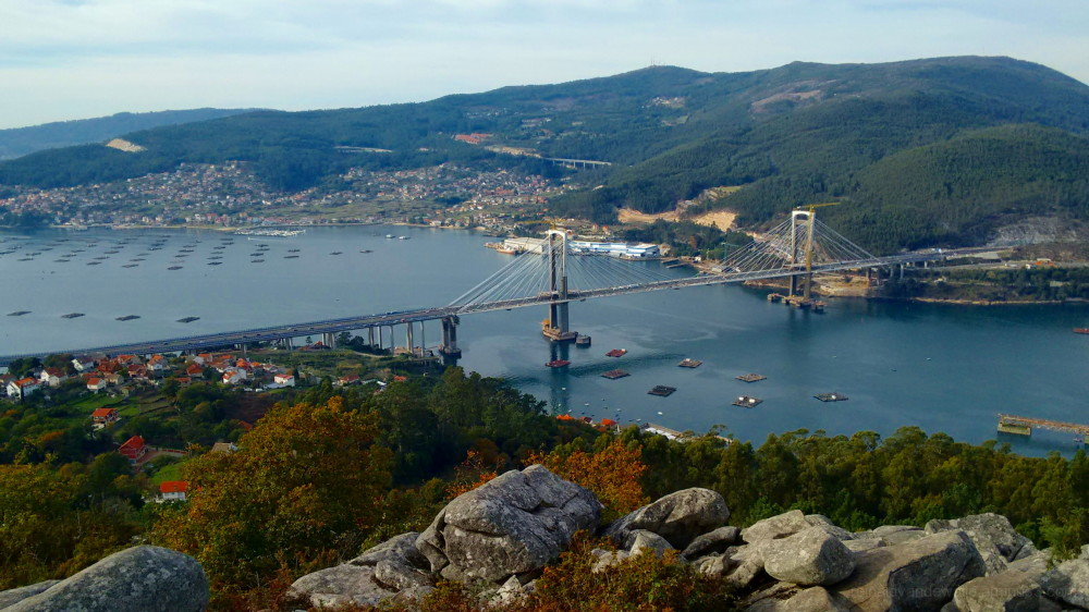 Rande Bridge in Vigo
