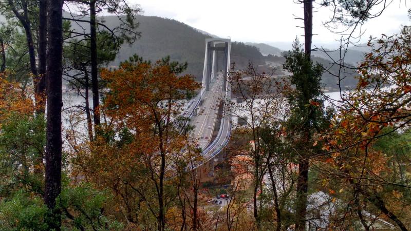 Rande Bridge in Vigo