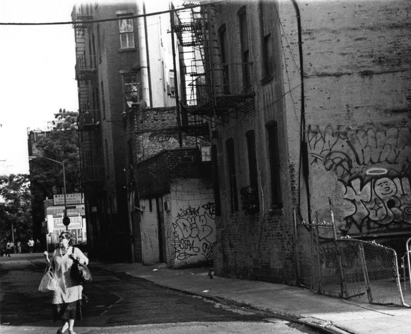 Urban Scene - Woman on the Street