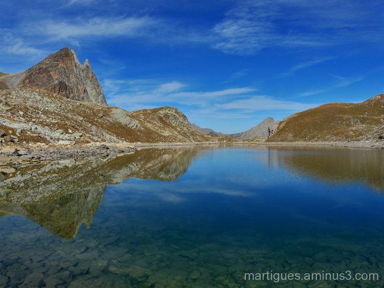 Le lac du Marinet   Haute Ubaye