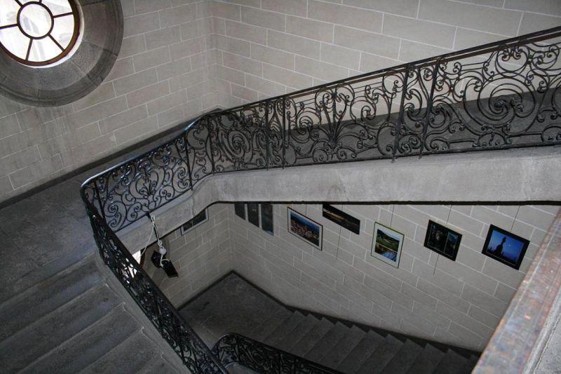 Quand l'escalier s'endort