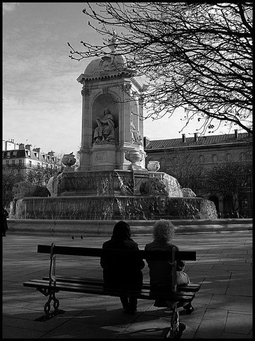 La fontaine St-Sulpice