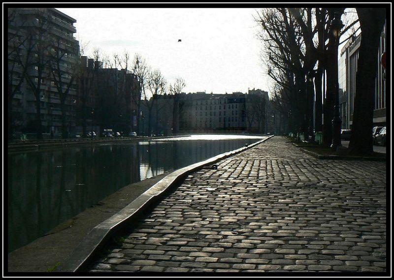 Matin d'hiver sur le canal