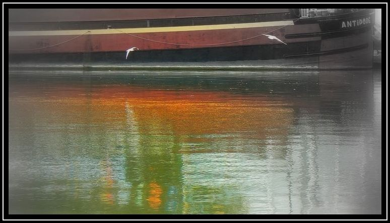 Paris, canal, Seine