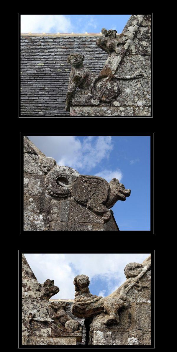 Bretagne sculptures églises