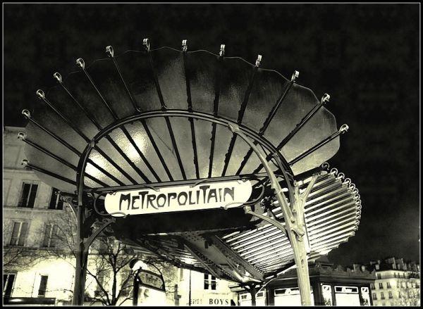 Le métropolitain de Guimard 3