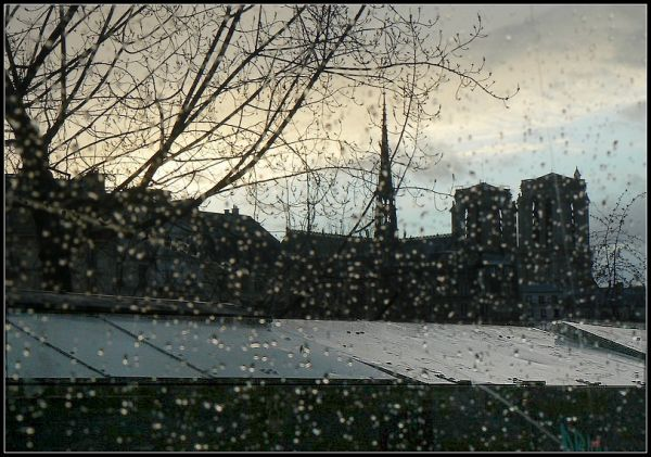 Pluie, Paris