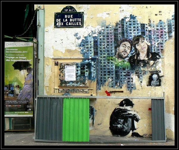 murs tag fresque