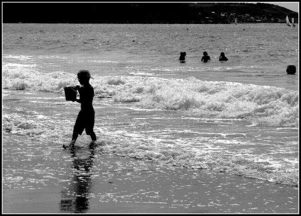mer vagues Bretagne