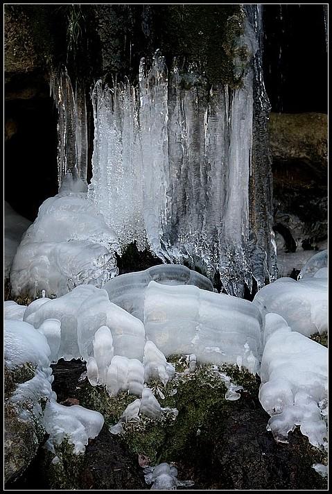 La cascade muselée
