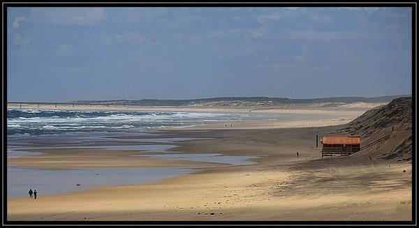 Entre dune et océan