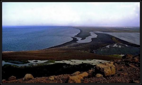 En arrivant sur l'Océan Glacial Arctique