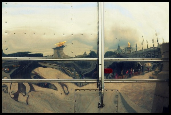 Rêverie sous le pont  Alexandre III
