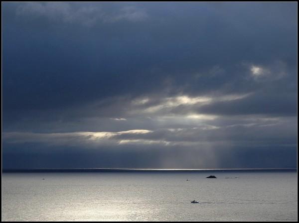 mer bateaux ciels bretagne