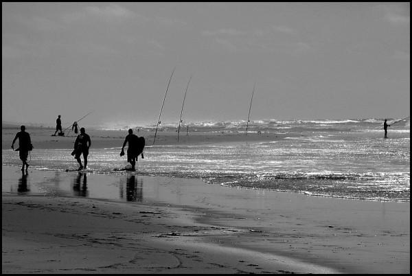 Surfers et pêcheurs 2/2