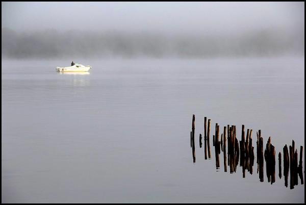 Brume sur le lac -3