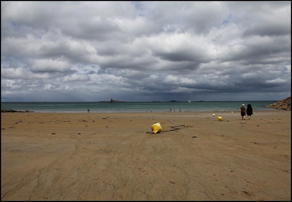 Un grain sur la plage