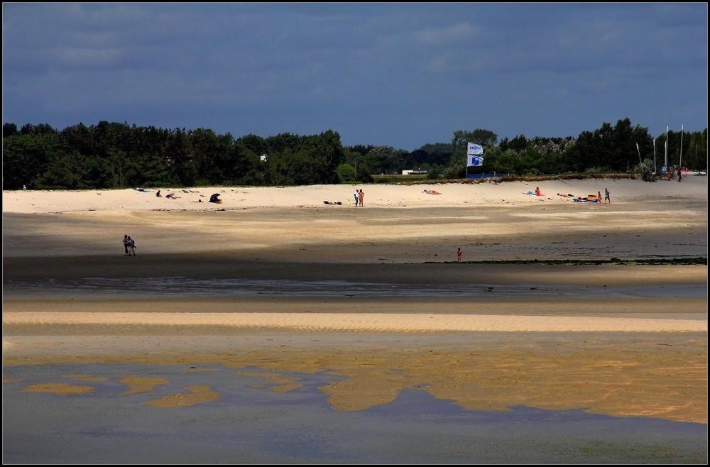 La plage à marée basse ~1