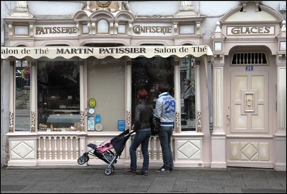 Lèche-vitrine  dans le  Finistère (29)