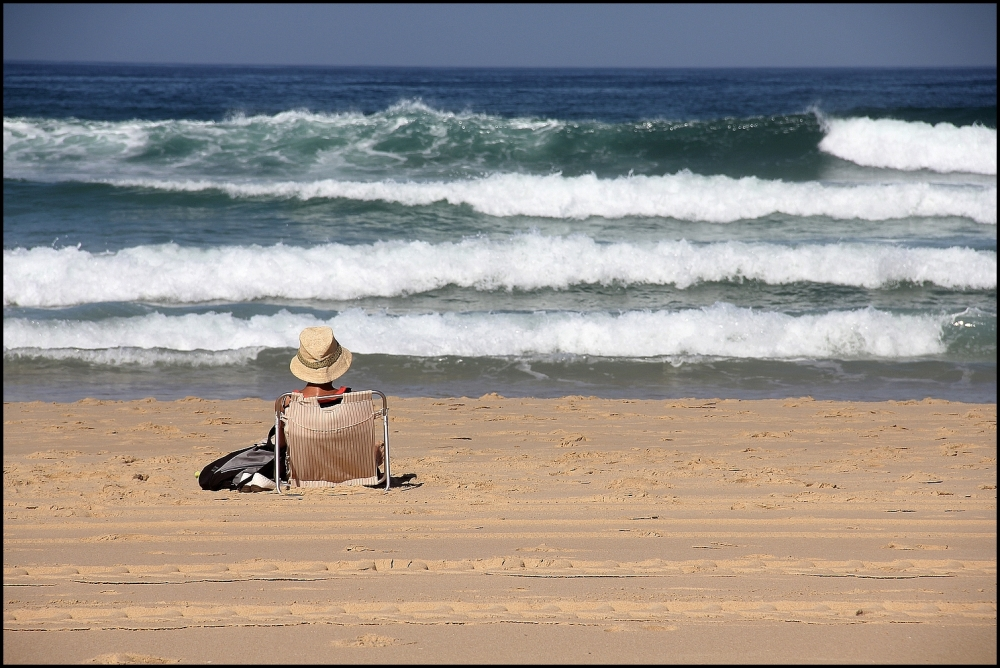 Sur le sable, dorer...