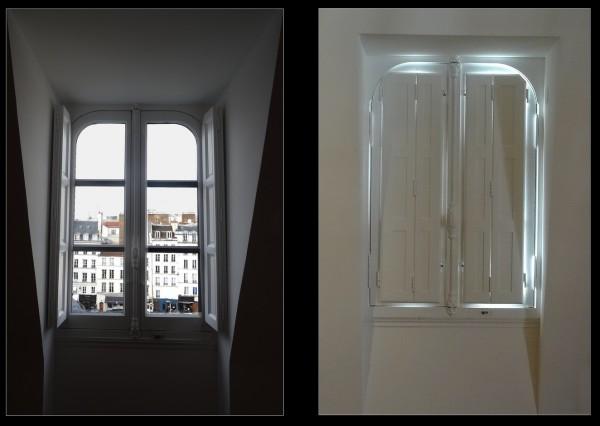 Paris fenêtres éclairageS