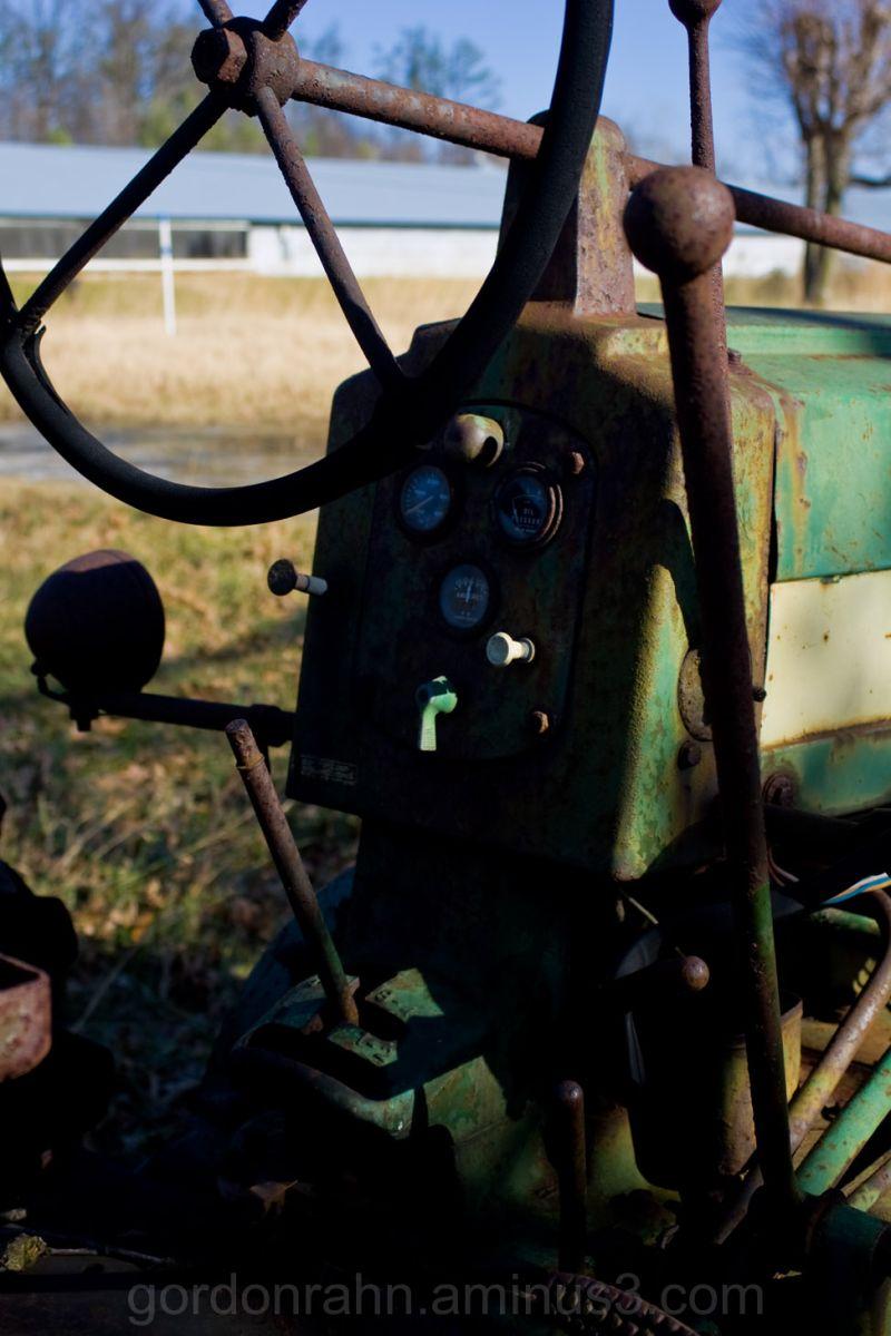 john deere tractor controls