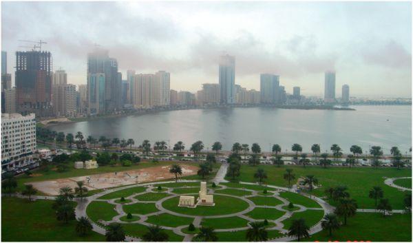 Clouds over Buhairah Corniche