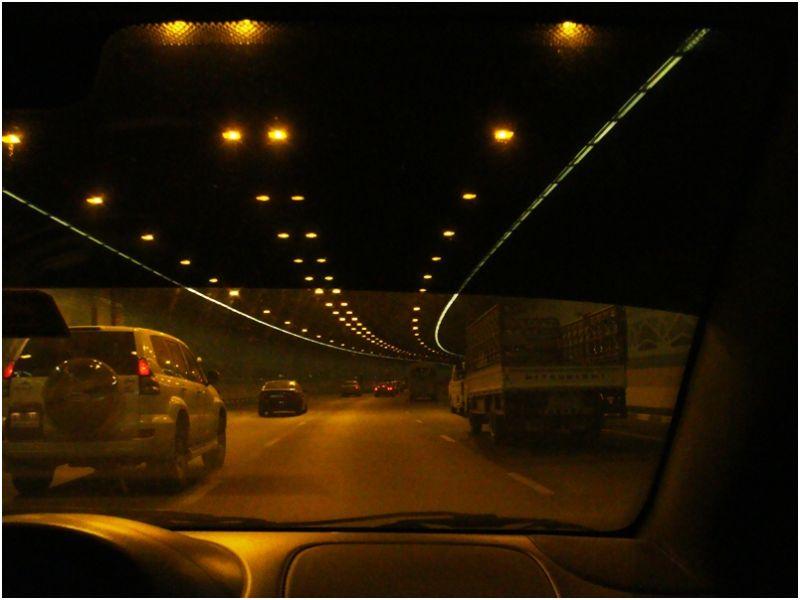 On my way to office - Dubai Airport Tunnel