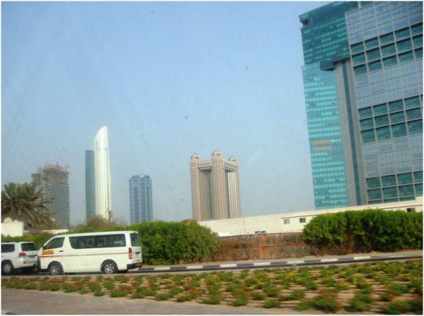 On my way to office - Dubai World Trade Centre Rd