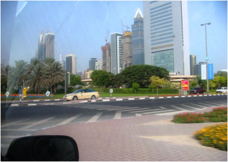 On my way to office - Za'abeel Road