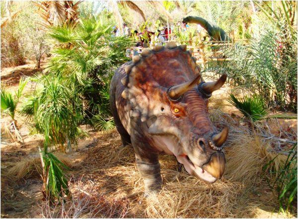 2010 03 12 Al Ain Zoo - Dinosaur Trail