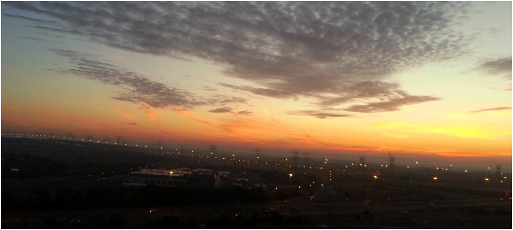 2012 12 20 Another amazing sunrise from my balcony