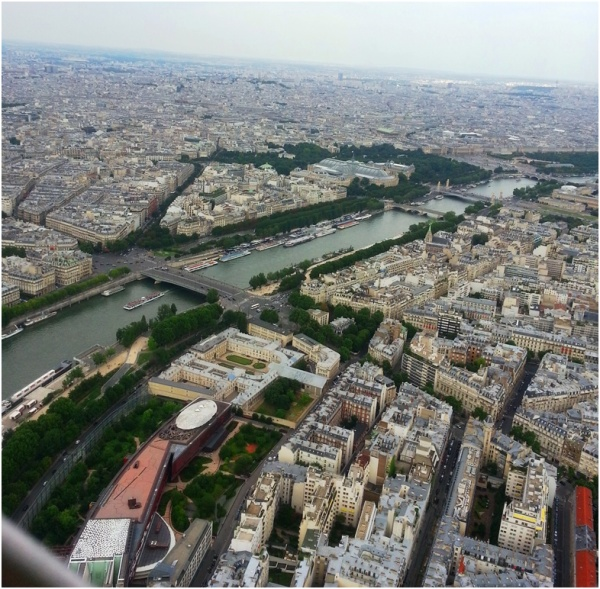 2013 07 27 From Eiffel Tower, Paris