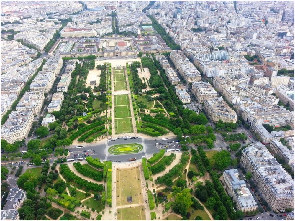 2013 07 27 From Eiffel Tower, Paris