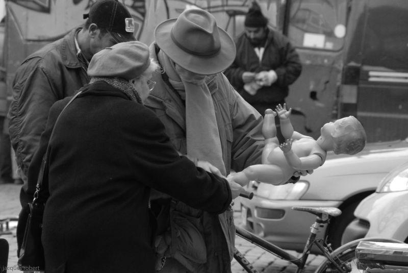 Place du marché au jeu de balles
