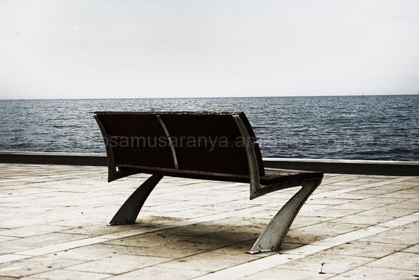 Mirando al mar....