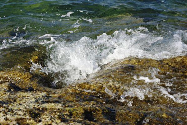 El mar..